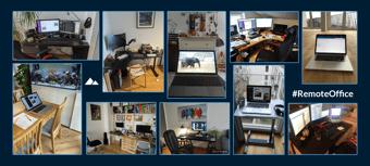 Remote Office Desks