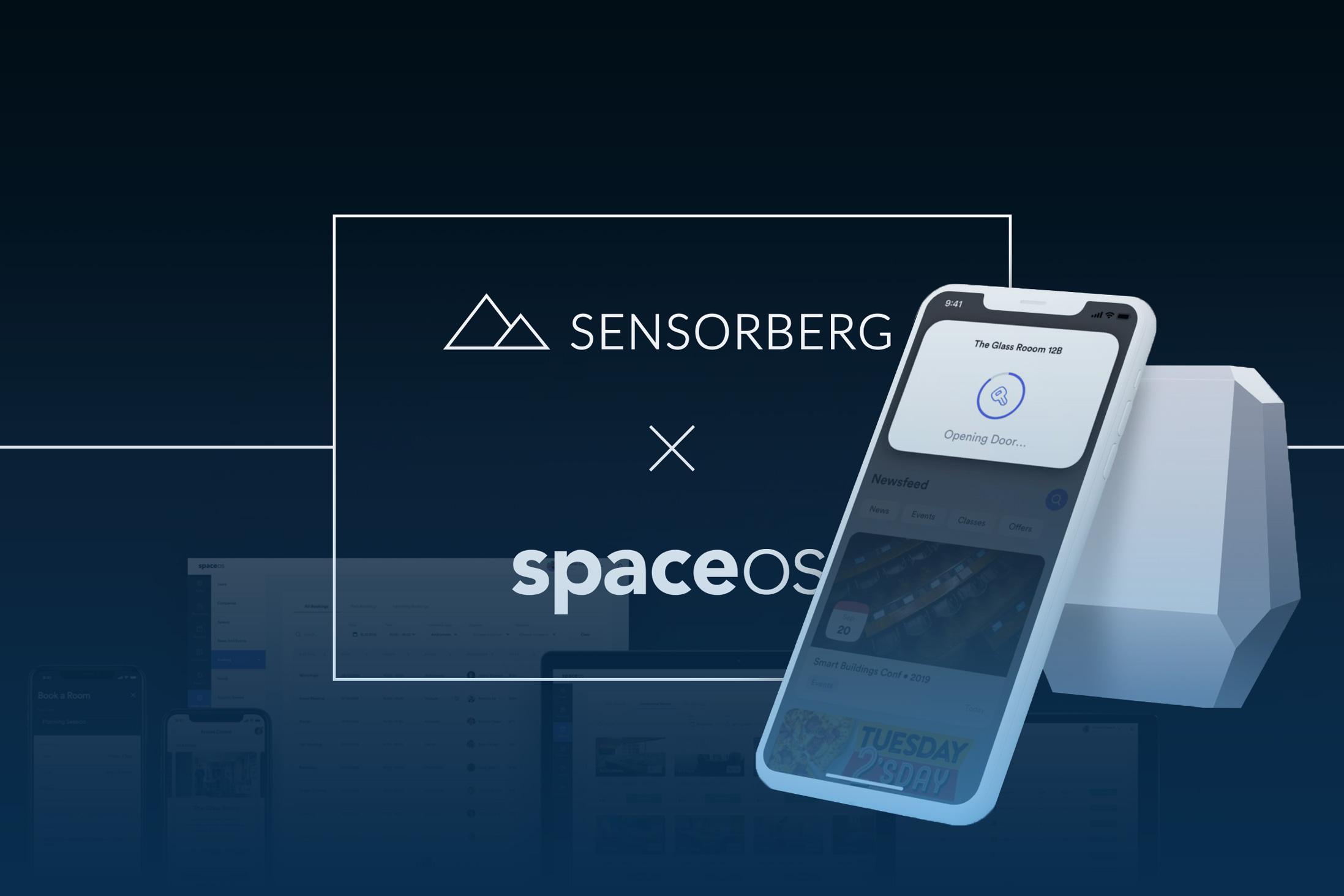 PropTechs Sensorberg und spaceOS gehen Kooperation ein
