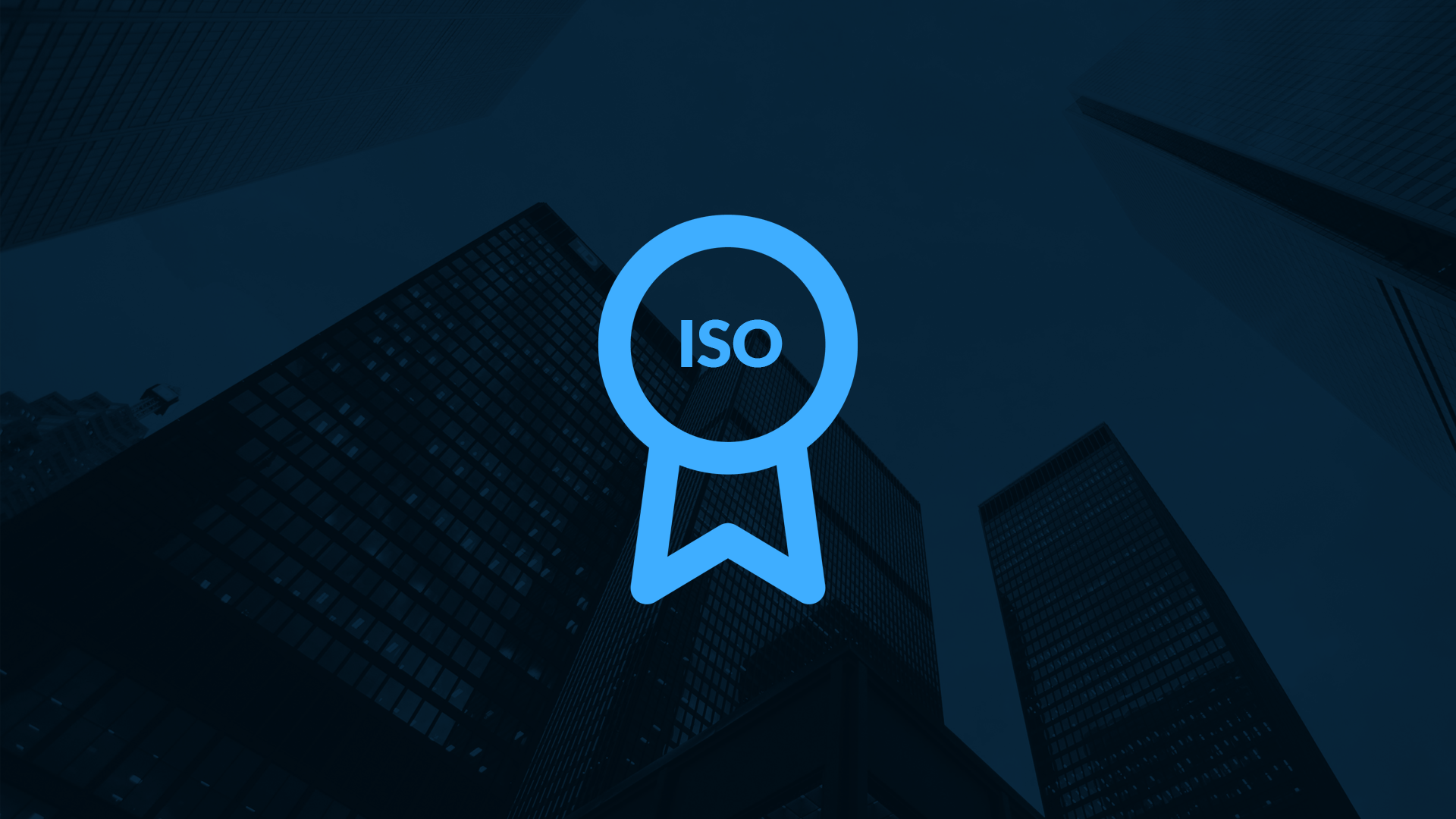 Secure building technology thanks to ISO certificate