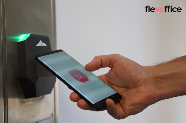 Sensorberg digitizes locations of the Swiss office space operator FlexOffice